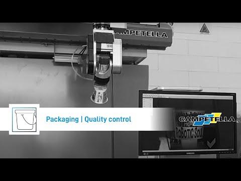 Campetella Robotic Center - Mini Modula X-Series 2 Cavities yogurt container