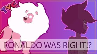 (debunked!) ronaldo was right!? lion is what…?!! | steven universe fan theory