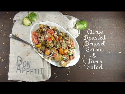 Farro Salad With Seared The city Sprouts