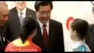 Super star China President Hu Jintao 涛哥 我们爱你