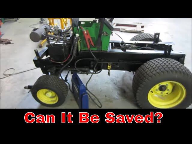 John Deere 318 with a Failing  Onan engine, will it run?