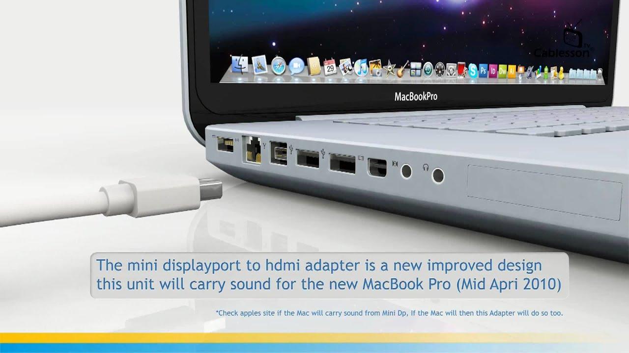 mini displayport till displayport
