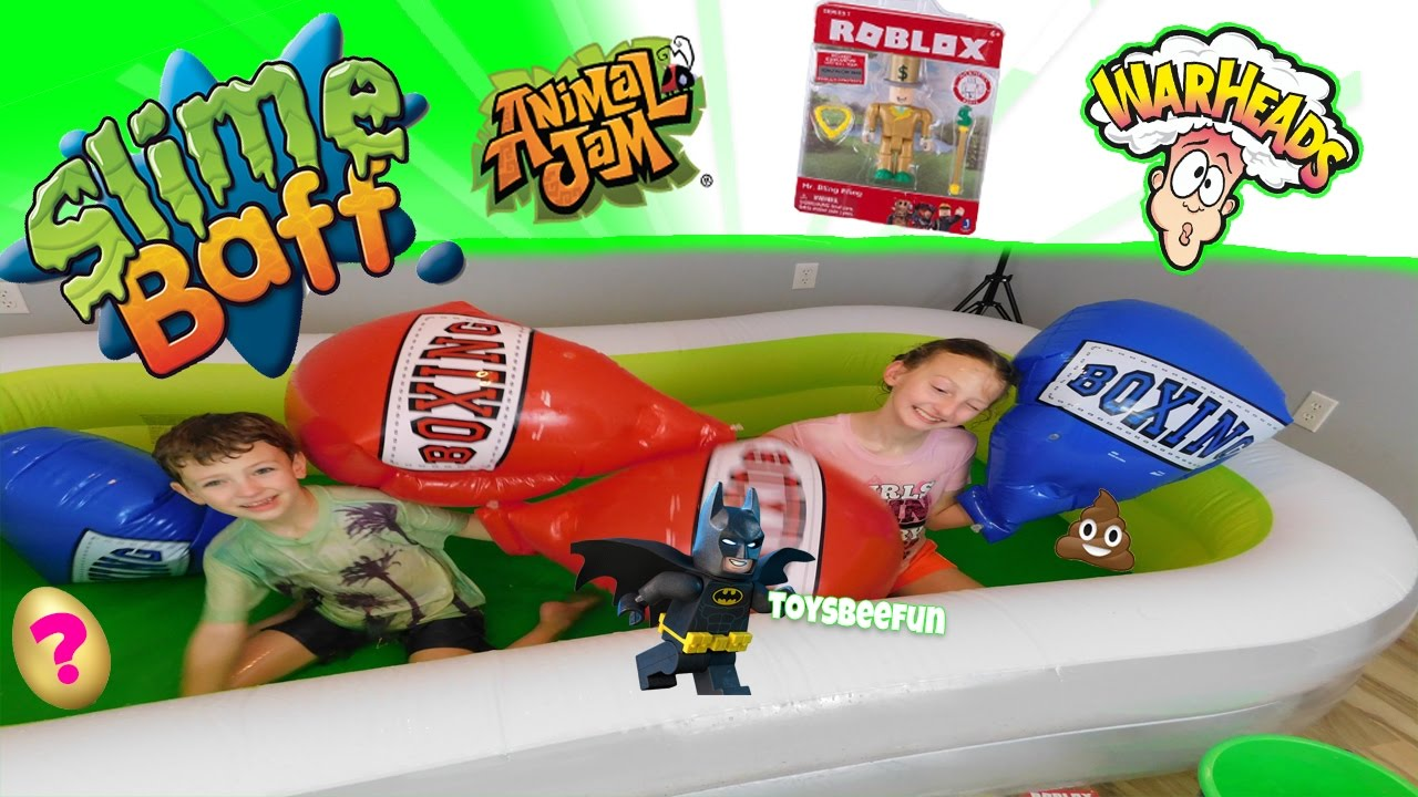 Slime Baff Toy Challenge Sour Candy Challenge Toy