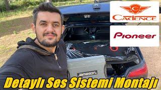 Oto Tesisat Ses Sistemi Nasıl Bağlanır | Pioneer - Cadense - Sony - Jameson - Peugeot 306 Griffe