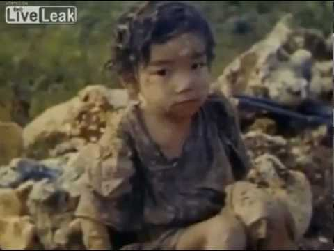 沖縄戦カラー映像1945年 第二次世界大戦