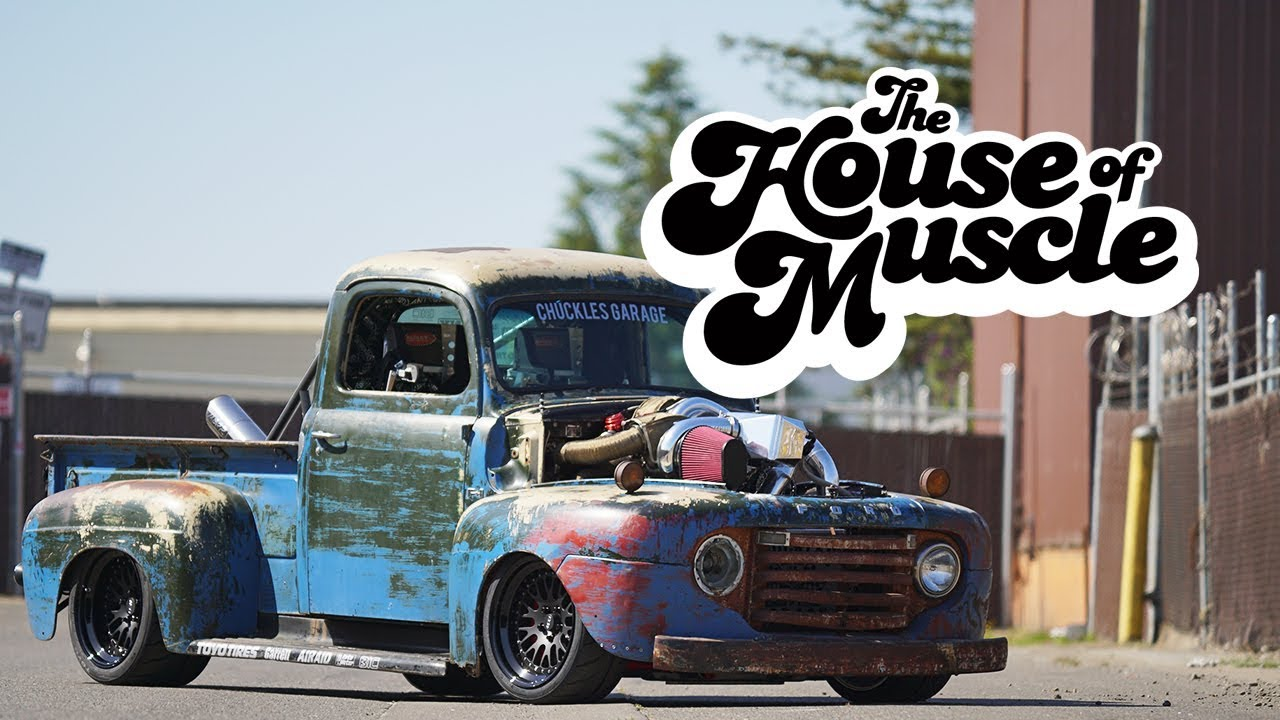 Chuckles Garage: 1949 Ford F1 - The House Of Muscle Ep. 10 - YouTube