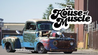 Chuckles Garage 1949 Ford F1 - The House Of Muscle Ep. 10