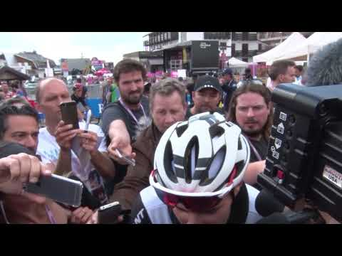 Tom Dumoulin - Post-race interview - Stage 18 - Giro d'Italia / Tour of Italy 2018