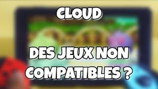 Sauvegarde dans le cloud Nintendo Online - Des jeux non compatibles ?