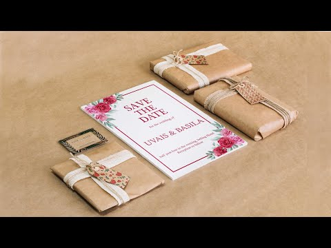wedding cards design in photoshop cc | photoshop tutorial malayalam | wedding card design malayalam thumbnail