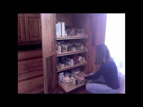 Organized Raw Food Kitchen, Melody Granger, Elizabeth Saffell