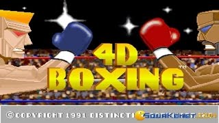 4D Sports Boxing gameplay (PC Game, 1991)