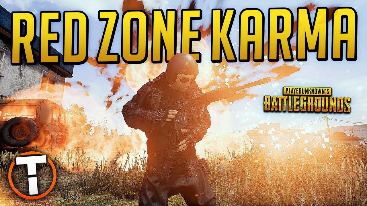 Playerunknown Battlegrounds Red Zone