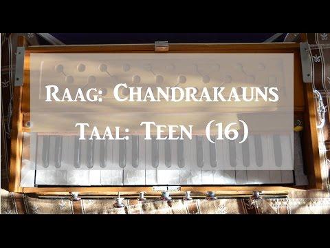 Learn Lehra - Raag Chandrakauns, Teen Taal