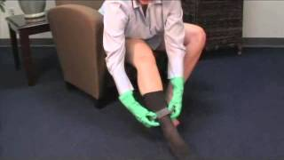 SIGVARIS   Application and Removal of Your Thigh High Stockings