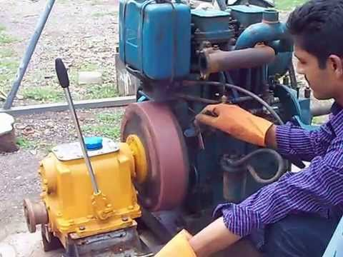 Kirloskar Diesel with Marine Gear box test run 227