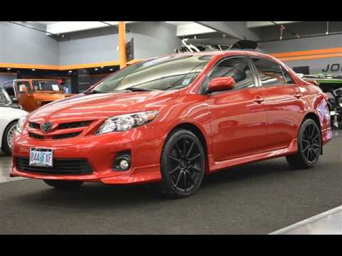 2012 toyota corolla s spoiler backup camera automatic wheels low miles for sale in milwaukie or. Black Bedroom Furniture Sets. Home Design Ideas