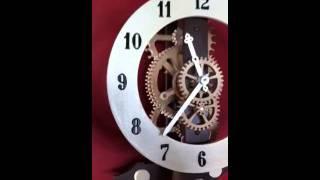 Richard's Wood Clock