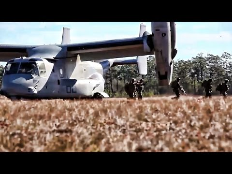 Marines Quick Reaction Force Exercise • Camp Lejeune