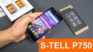 S-TELL P750 - батарея на 3300 мАч и защищенный экран за $65