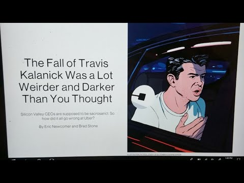 What Caused Travis Kalanick To Fall?