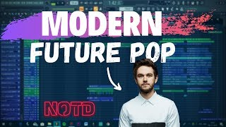 HOW TO MAKE FUTURE POP MUSIC -  FL Studio