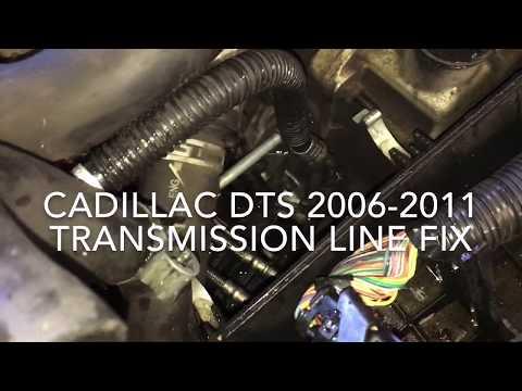 Cadillac DTS Transmission line fix 06-11