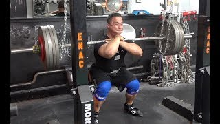Front Squat FAIL - Time To Deload