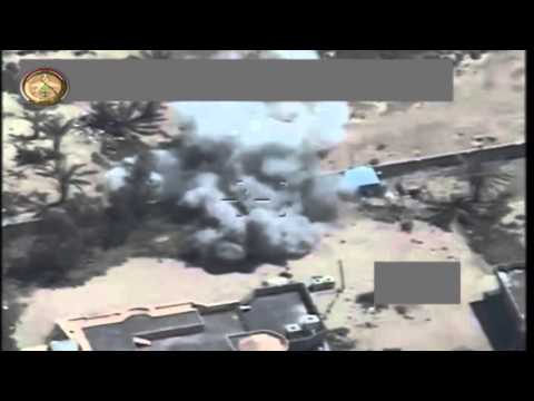 Iraqi Army Aviation drone strikes on ISIS in Hit, Anbar and Makhoul, Mosul