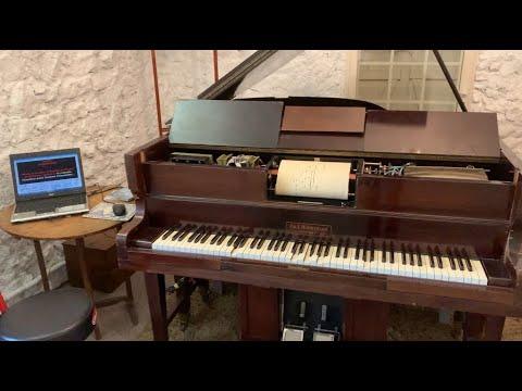 Pianola: Femmes, je vous aime (Julien Clerc) Piano solo.