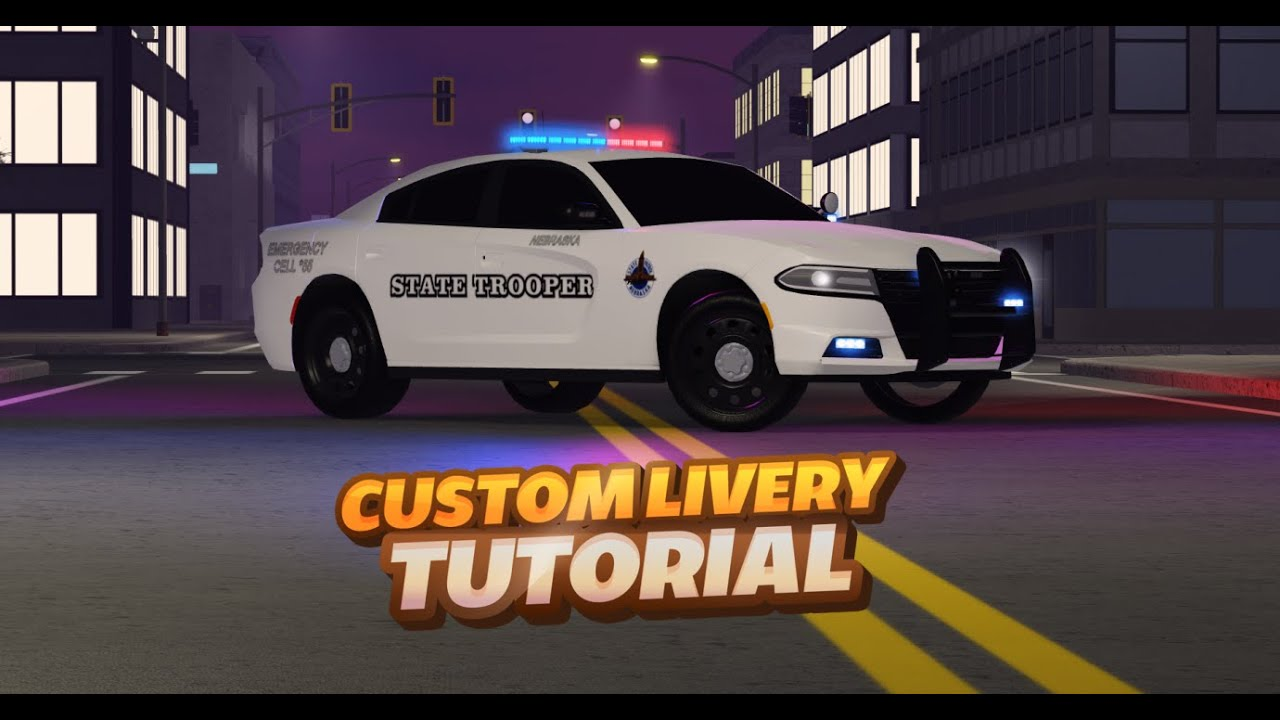 Download Custom Livery Tutorial | Emergency Response: Liberty County