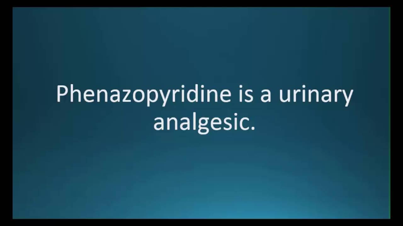 Cheap Phenazopyridine Canada