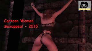 Lesben Bi Frauen Only 18+ - Cartoon Women Sexappeal - 2015