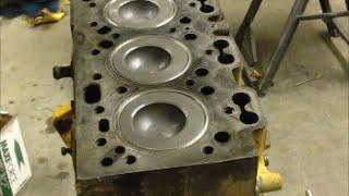 Engine Rebuild / Assembly - Perkins Diesel 4.236 - JCB Backhoe Project Part 5