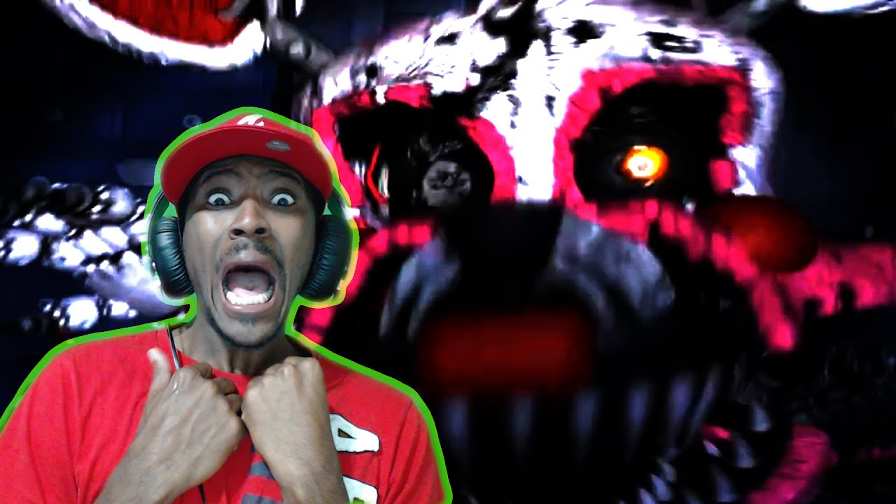 mangle horrifying jumpscare five nights at freddys 4 halloween edition fnaf 4 youtube