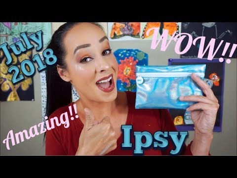 July 2018 Ipsy! I CAN'T BELIEVE THEY SENT THIS TO ME!!!