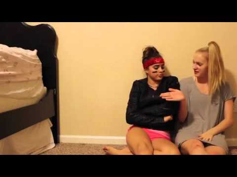 Teen black girls twerking