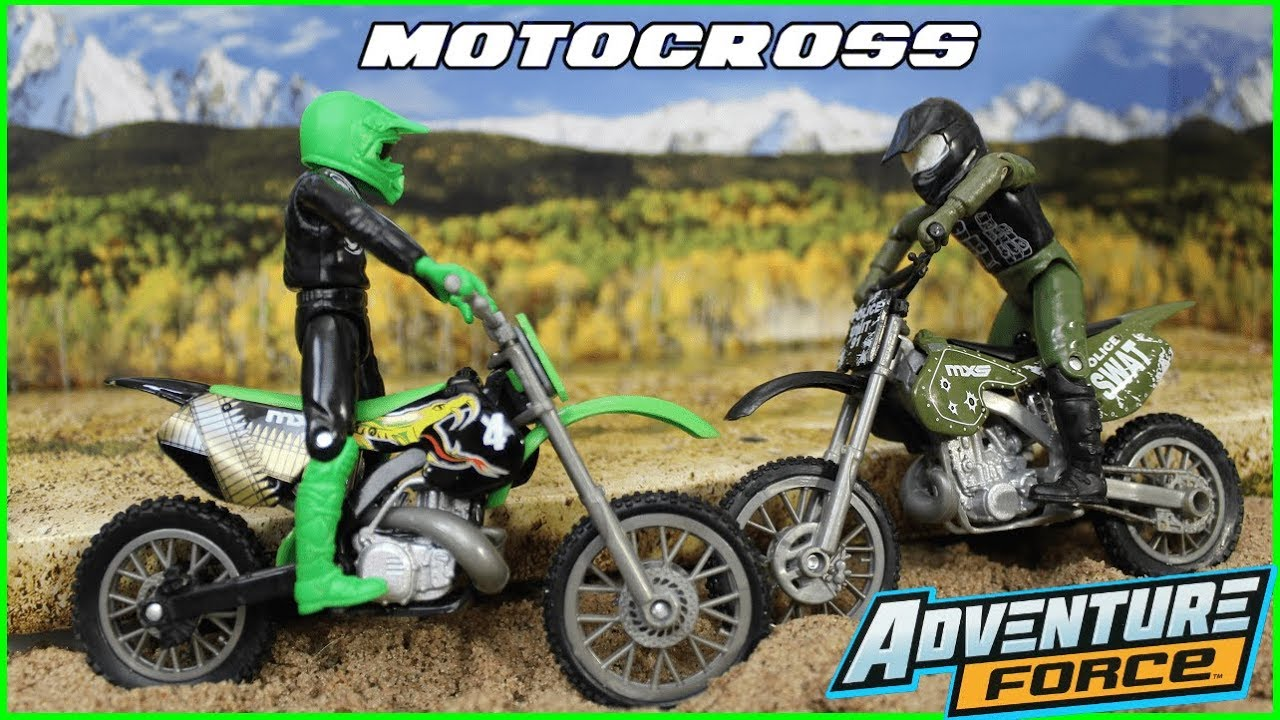Download Pretend Play Adventure Force Motocross Dirt Bikes Toys Outdoor Imagination