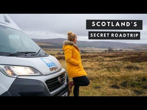 Scotland Campervan Road Trip | Introducing the HEART 200