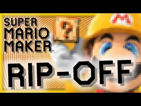 The Most BLATANT Mario Maker Ripoff To Ever Exist (Box Maker)