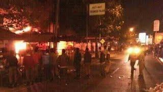 Pasar Benteng Mojokerto Kebakaran