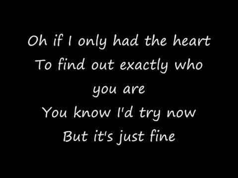 The Maine - If I Only Had The Heart (Lyrics)