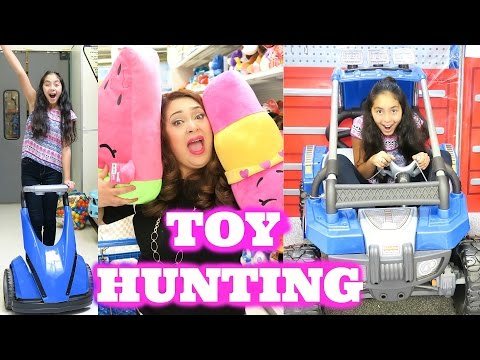 Thumbnail: Toy Hunting so much FUN at Toys R Us Hatchimals Shopkins 6 Halloween Costumes Claire's|B2cutecupcake
