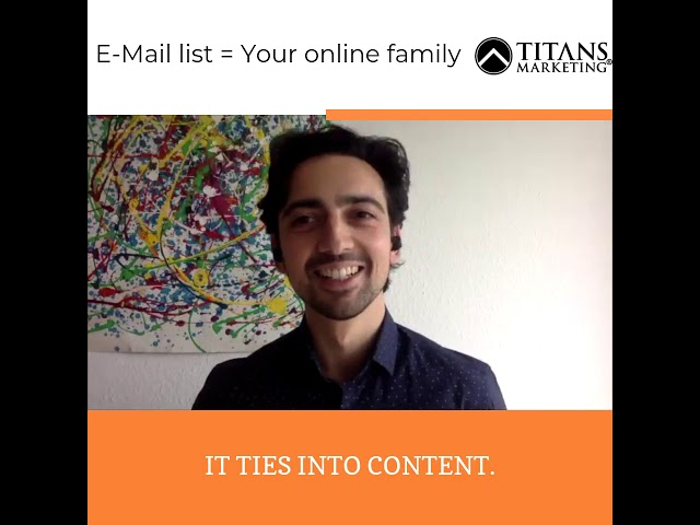 See your email list as your online family