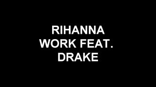 rihanna work lyrics