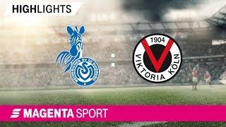 Gambar cover MSV Duisburg - FC Viktoria Köln   Spieltag 16, 19/20   MAGENTA SPORT