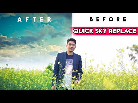 How To Replace Sky In Photoshop Cc Quick Tricks