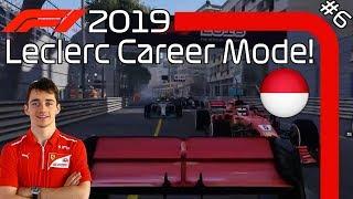 MONACO MIRACLE F1 2019 Charles Leclerc Career Mode EP6 Monaco Gp F1 2018 Game Mod