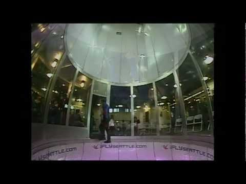 Indoor Skydiving in Seattle by my 5 year old Son Isaiah and then the Professional