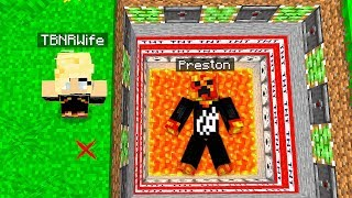 MY WIFE TROLLED ME IN MINECRAFT PrestonPlayz vs PrestonPlayz Wife